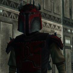 Malek's eight Mandalorian armor. (20 BBY-19 BBY)