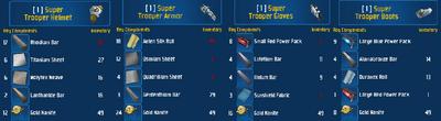 Super trooper set