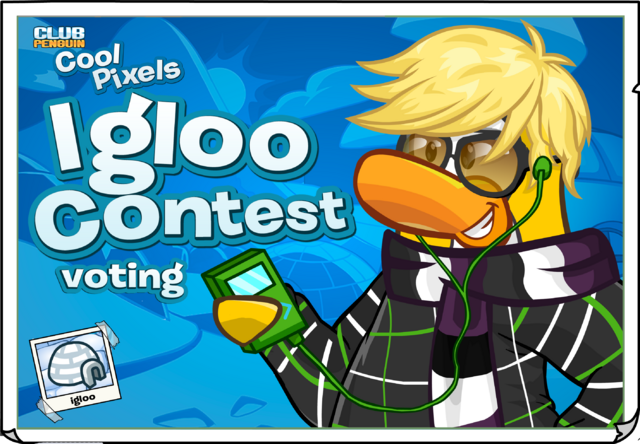 File:Cool Pixels Igloo Contest Ad.png