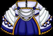 Sapphire Duchess Dress