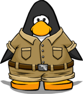 Beige Explorer Outfit from a Player Card