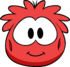 Red Puffle Costume Item