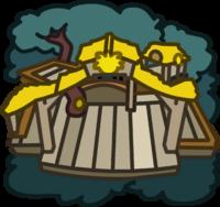 Yellow Puffle Tree House icon