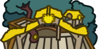 Yellow Puffle Tree House