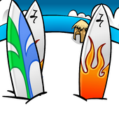 Surfboards Background