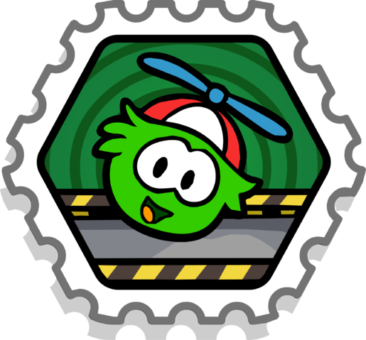 File:Puffle Pilot stamp.png