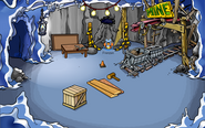 Puffle Rescue Construction Mine