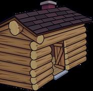 Log Cabin Trick-or-Treat