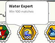 Water expert stamp book
