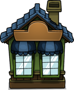 Cozy Green House sprite 002