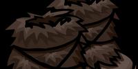 Dark Brown Fuzzy Boots