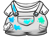 Painter Overalls clothing icon ID 4011