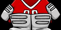 Red Goalie Gear