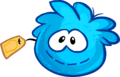 Blue Puffle Stuffie clothing icon ID 5194