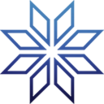 Decal Snowflake winter icon