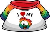 I Heart My Rainbow Puffle T-Shirt clothing icon ID 4811