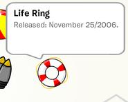 Life Ring Pin Stampbook