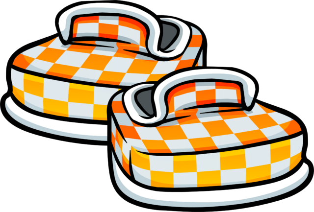 File:Orange Checkered Shoes Icon 6050.png
