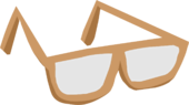 Brown Glasses clothing icon ID 114