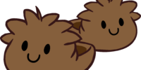 Brown Puffle Slippers
