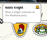 Noble Knight stamp SB