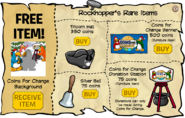 Rockhopper's Rare Items December 2009