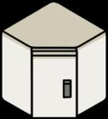 Corner Wall Cabinet icon