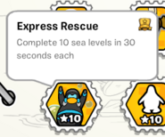 Express rescue stamp book