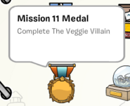 Mission 11 medal stamp book