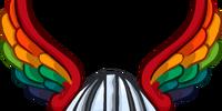 Rainbow Winged Helm