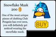 Snowflake Mask Catalog