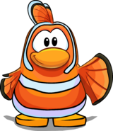 Nemo Costume on a Player Card