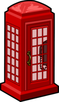 Telephone Box furniture icon