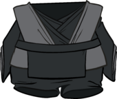 Black Jedi Robes clothing icon ID 4895