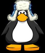 Blue Fuzzy Hat 2