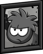 Black Puffle Picture sprite 001
