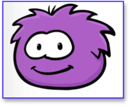 Purple-puffle