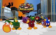 Slide cof superhero