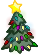 Holiday Party 2016 Tree emoticon