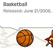 Basket ball pin