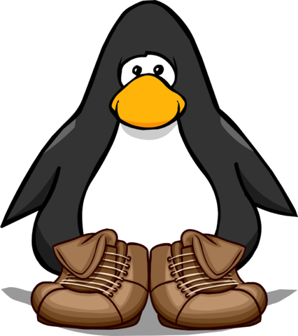 File:Brown Leather Boots PC.png