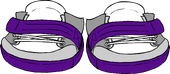 Franky Purple Kicks clothing icon ID 6079