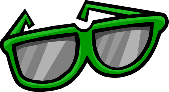 File:Giant Green Sunglasses.png