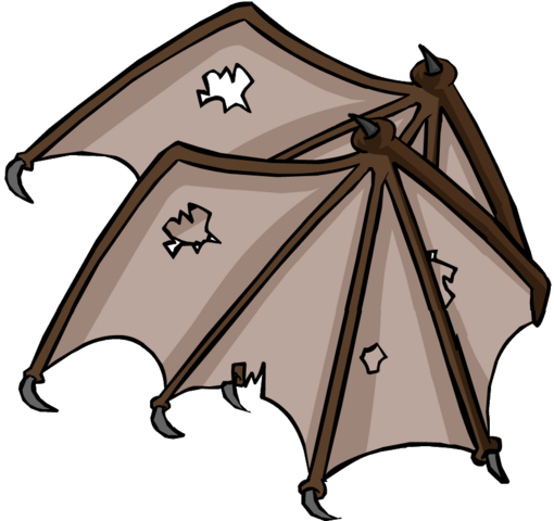 File:Brown Bat Wings Icon 3135.png