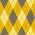 Fabric Argyle Yellow icon