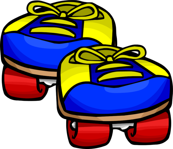 File:Blue Rollerskates clothing icon ID 377.png