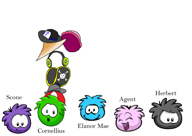 File:Aunt Arctic's puffles carrying hats..png