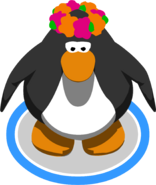 Flower Headdress ingame