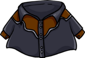 Black Cowboy Shirt clothing icon ID 843