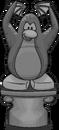 Spooky Penguin Statue sprite 005
